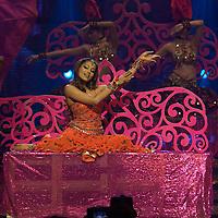 SHEFFIELD, UNITED KINGDOM - 9th June 2007: Bollywood actress Bipasha Basu performing at International Indian Film Academy Awards (IIFAs) at the Sheffield Hallam Arena on June 9, 2007 in Sheffield, England..