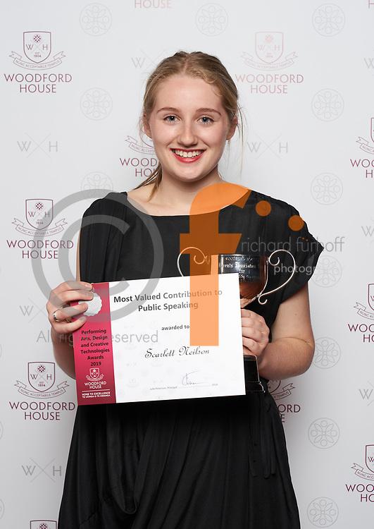 Woodford House Visual & Performing Arts Awards 2019