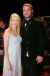 18/10/2007<br />Swarovski Fashion Rocks for The Prince's Trust at The Royal Albert Hall<br />Naomi Watts with her husband Liev Schreiber / action press