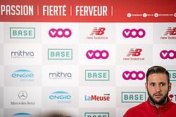 September 14, 2017 - Liege, Belgique - LIEGE, BELGIUM - SEPTEMBER 14 : Presentation of Duje COP, Standard de Liege new player on September 14, 2017 in Liege, Belgium , 14/09/17 (Credit Image: © Panoramic via ZUMA Press)