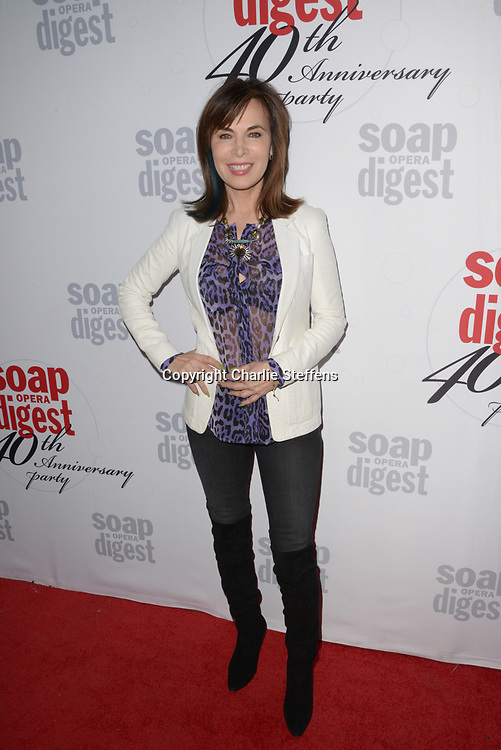 LAUREN KOSLOW at Soap Opera Digest's 40th Anniversary party at The Argyle Hollywood in Los Angeles, California