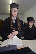 Orthodox Jewish school, Lev Tahor (Pure Heart) community, Sainte Agathe des Monts, Quebec, Canada