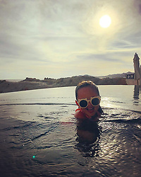 """Tamara Ecclestone releases a photo on Instagram with the following caption: """"Last swim and sunset of 2018 \u2764\ufe0f"""". Photo Credit: Instagram *** No USA Distribution *** For Editorial Use Only *** Not to be Published in Books or Photo Books ***  Please note: Fees charged by the agency are for the agency's services only, and do not, nor are they intended to, convey to the user any ownership of Copyright or License in the material. The agency does not claim any ownership including but not limited to Copyright or License in the attached material. By publishing this material you expressly agree to indemnify and to hold the agency and its directors, shareholders and employees harmless from any loss, claims, damages, demands, expenses (including legal fees), or any causes of action or allegation against the agency arising out of or connected in any way with publication of the material."""