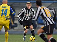 "Milos Krasic (Juventus)<br /> Verona, 19/12/2010 Stadio ""Bentegodi""<br /> Chievo-Juventus<br /> Campionato Italiano Serie A 2010/2011<br /> Foto Nicolo' Zangirolami Insidefoto"