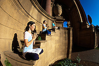 Dana Schachter, Darcy Lyon & Teri Wing at the Palace of fine arts, San Francisco