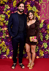 Jamie Jewitt and Camilla Thurlow attending the Crazy Rich Asians Premiere held at Ham Yard Hotel, London. PRESS ASSOCIATION Photo. Picture date: Tuesday September 4, 2018. Photo credit should read: Ian West/PA Wire