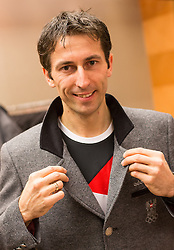 28.01.2014,  Marriott, Wien, AUT, Sochi 2014, Einkleidung OeOC, im Bild Willi Denifl (Nordische Kombination, AUT) // Willi Denifl (Nordic Combined, AUT) during the outfitting of the Austrian National Olympic Committee for Sochi 2014 at the  Marriott in Vienna, Austria on 2014/01/28. EXPA Pictures © 2014, PhotoCredit: EXPA/ JFK