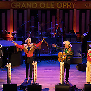 Riders in the Sky perform atGrand Ole Opry performance at the Ryman Auditorium in Nashville, Tennessee. The Opry returns to its' original home in downtown Nashville during the winter season. Nathan Lambrecht/Journal Communications