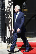 © Licensed to London News Pictures. 24/07/2012. Westminster, UK  JOHN MAJOR. The British Prime Minister David Cameron hosts a lunch today 24th July 2012 at Downing Street for HM The Queen and the Duke of Edinburgh with the Deputy Prime Minister and past Prime Ministers, Sir John Major, Tony Blair and Gordon Brown. Photo credit : Stephen Simpson/LNP