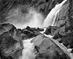 Wapama Falls, Hetch Hetchy Reservoir, Yosemite, California