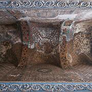 9th century mosaic on the ceiling of Hagia Sophia
