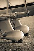 Wheel pants of a Ryan ST A.