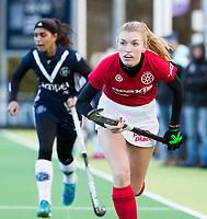 AMSTELVEEN -  . Pinoke-Wageningen (2-0)  , Overgangsklasse hockey dames. COPYRIGHT KOEN SUYK
