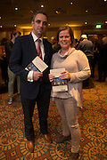 NO FEE PICTURES<br /> 20/1/16  Gavin Reilly, Cavan and Olive Melvin, Cabra at the launch of Noel Whelan's book, The Tallyman's Campaign Handbook at the Alexander Hotel in Dublin. Picture: Arthur Carron