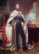 Emperor Maximilian I of Mexico:  Maximilian (1832-1967) was born Archduke Ferdinand Maximilian Joseph of Austria and was proclaimed Emperor of Mexico on 10 April 1864 with the backing of Napoleon III of France. Few foreign government recognised his regime, which was also the case with Mexican liberals.  The ensuing conflict ended with the Emperor's execution. Portrait by the German painter Franz Xavier Winterhalter, 1864.