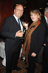 COUNT ANDREI TOLSTOY-MILOSLAVSKY and MRS DAVID BOWEN-JONES at a party for Countess Carolinda Tolstoy-Miloslavsky held at The Arts Club, 40 Dover Street, London on 15th April 2008.<br /><br />NON EXCLUSIVE - WORLD RIGHTS