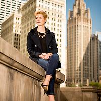 Portrait of Kathryn Goetti in Chicago
