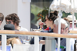 Alessandra Ambrosio and Nicolo Oddi at the Eden Roc hotel during the 2019 Cannes Film Festival. In Antibes, France, on May 16, 2019. Photo by Thibaud MORITZ ABACAPRESS.COM