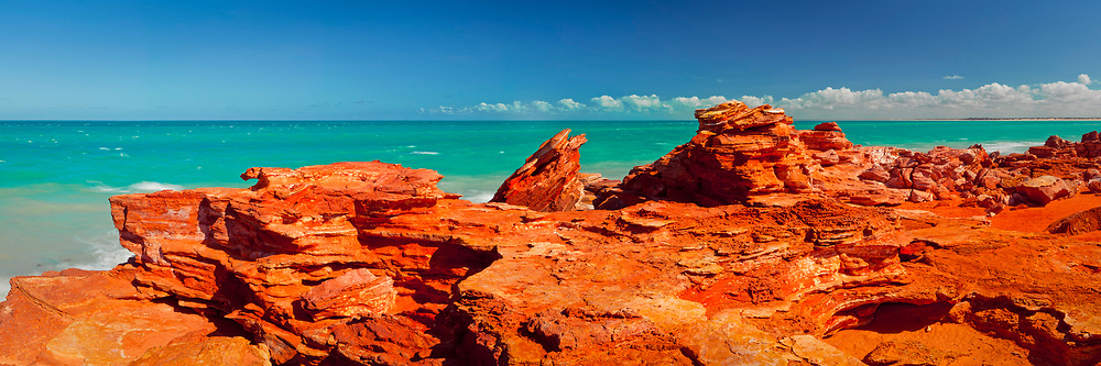 A panoramic photograph of Ganthaume Point near Broome.<br /> <br /> Open Edition Print / Stock Image