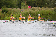 Race: 125  W.MasD/E.4x-  Final<br /> <br /> Peterborough Summer Regatta 2018 - Sunday<br /> <br /> To purchase this photo, or to see pricing information for Prints and Downloads, click the blue 'Add to Cart' button at the top-right of the page.