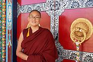 Namdol Phuntsok (best results at Geshema examination) from Kopan Nunnery (from Tibet)