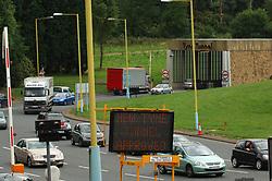 Tyne road tunnel Newcastle UK