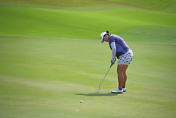 SINGAPORE, March 3, 2018  China's Feng Shanshan hits a shot during the 3rd round of the HSBC Women's World Championship held in Singapore's Sentosa Golf Club on March 3, 2018. (Credit Image: © Then Chih Wey/Xinhua via ZUMA Wire)