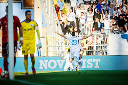 Franko Andrijasevic #23 of HNK Rijeka during football match between HNK Rijeka and HNK Cibala in Round #35 of 1st HNL League 2016/17, on May 21st, 2017 in Rujevica stadium, Rijeka, Croatia. Photo by Grega Valancic / Sportida