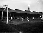 13/04/1956<br /> 04/13/1956<br /> 13 April 1956<br /> Soccer: St Patrick's Athletic v Shamrock Rovers at Dalymount Park, Dublin.