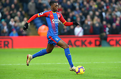 December 26, 2018 - London, England, United Kingdom - London, England - 26 December, 2018.Crystal Palace's Aaron Wan-Bissaka.during English Premier League between Crystal Palace and Cardiff City at Selhurst Park stadium , London, England on 26 Dec 2018. (Credit Image: © Action Foto Sport/NurPhoto via ZUMA Press)
