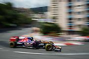May 20-24, 2015: Monaco Grand Prix: Carlos Sainz Jr. Scuderia Toro Rosso