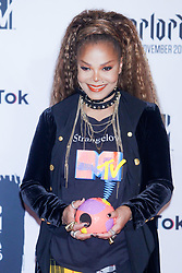 Janet Jackson in the press room during the MTV Europe Music Awards held at the Bilbao Exhibition Centre, Spain on November 4, 2018. Photo by Archie Andrews/ABACAPRESS.COM