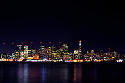 500px Photo ID: 4082900 - Long exposure shot of San Francisco, as seen from Treasure Island lookout.