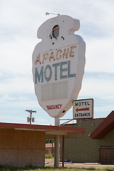 Apache Motel in Tucumcari, New Mexico on Route 66