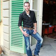 ITA/Lucca /20130521 - Presenttie Cast film De Toscaanse Bruiloft, Matteo van der Grijn