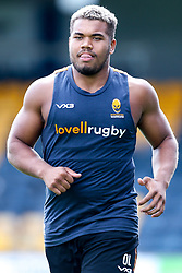 Ollie Lawrence of Worcester Warriors during preseason training ahead of the 2019/20 Gallagher Premiership Rugby season - Mandatory by-line: Robbie Stephenson/JMP - 06/08/2019 - RUGBY - Sixways Stadium - Worcester, England - Worcester Warriors Preseason Training 2019