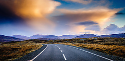 Evening light on the B8011 Isle of Lewis, Outer Hebrides, Scotland<br /> <br /> (c) Andrew Wilson | Edinburgh Elite media