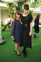 Left to right, RACHEL STEVENS and Gizzi Erskine at the Glamour Women Of The Year Awards held in Berkeley Square, London on 8th June 2010.