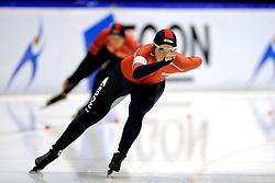 31-10-2009 SCHAATSEN: NK AFSTANDEN: HEERENVEEN<br /> Brecht Kramer op de 1000 meter<br /> ©2009-WWW.FOTOHOOGENDOORN.NL