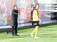 Fotball ,  OBOS-Ligaen<br /> 07.04.19<br /> Nammo Stadion<br /> Raufoss v Sandefjord  0-2<br /> Foto :  Dagfinn Limoseth , Digitalsport<br /> Marti Cifuentes Corvillo  , Sandefjords trener