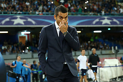 September 26, 2017 - Naples, Italy - Giovanni Van Bronckhorst manager of Feyenoordduring the UEFA Champion's League Group F football match Napoli vs Feyenoord Rotterdam on September 26, 2017 at the San Paolo stadium in Naples. (Credit Image: © Matteo Ciambelli/NurPhoto via ZUMA Press)