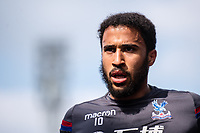 LONDON, ENGLAND - APRIL 14: Andros Townsend (10) of Crystal Palace during the Premier League match between Crystal Palace and Brighton and Hove Albion at Selhurst Park on April 14, 2018 in London, England. (Photo by MB Media/Getty Images)