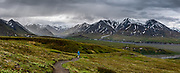 Views from Eielson Visitor Center, deep inside Denali National Park, Alaska, USA. This image was stitched from multiple overlapping photos.