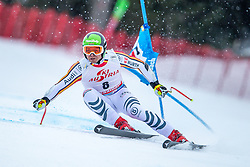 14.02.2020, Zwölferkogel, Saalbach Hinterglemm, AUT, FIS Weltcup Ski Alpin, Super G, Herren, im Bild Andreas Sander (GER) // Andreas Sander of Germany in action during his run for the men's SuperG of FIS Ski Alpine World Cup at the Zwölferkogel in Saalbach Hinterglemm, Austria on 2020/02/14. EXPA Pictures © 2020, PhotoCredit: EXPA/ Johann Groder