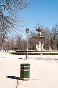 Fountain, Retiro Park, Madrid, Spain