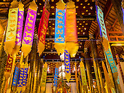 06 APRIL 2015 - CHIANG MAI, CHIANG MAI, THAILAND:  Interior of Wat Chedi Luang, one of the best known Buddhist temples in Chiang Mai. The temple was built in the 14th century CE.    PHOTO BY JACK KURTZ
