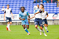 Bolton Wanderers forward Eddie Brown chest the ball down  during the EFL Sky Bet League 1 match between Bolton Wanderers and Coventry City at the University of  Bolton Stadium, Bolton, England on 10 August 2019.