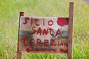 Botelhos_MG, Brasil...Detalhe de uma placa em Botelhos...Detail of a sign in Botelhos...Foto: LEO DRUMOND / NITRO