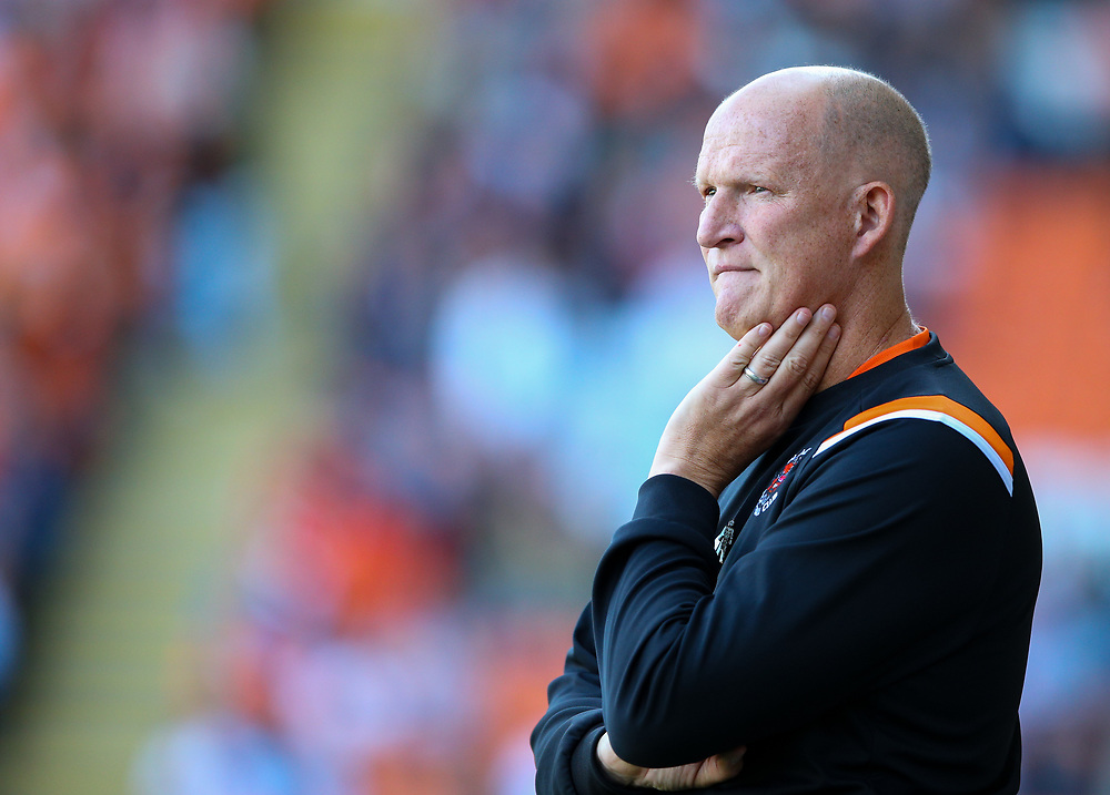 Blackpool manager Simon Grayson<br /> <br /> Photographer Alex Dodd/CameraSport<br /> <br /> The EFL Sky Bet League One - Blackpool v Oxford United - Saturday 17th August 2019  - Bloomfield Road - Blackpool<br /> <br /> World Copyright © 2019 CameraSport. All rights reserved. 43 Linden Ave. Countesthorpe. Leicester. England. LE8 5PG - Tel: +44 (0) 116 277 4147 - admin@camerasport.com - www.camerasport.com