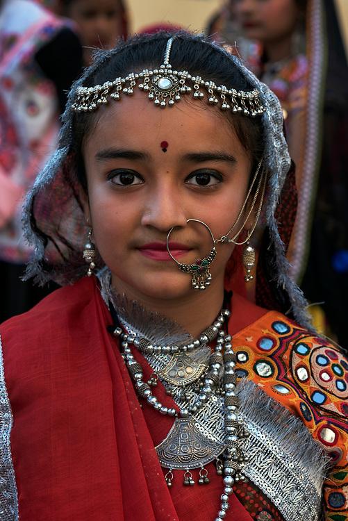 Jat Girl, Bhuj, Gujarat, India